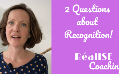 2 Questions about recognition!