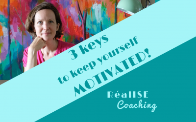 "Video: ""3 Keys To Keep Yourself Motivated!"""