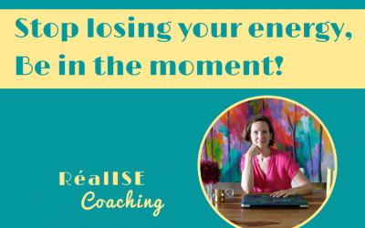 "Video: ""Stop losing your energy, be in the moment!"""