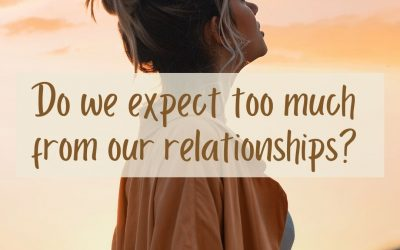 """Article: """"Do we expect too much from our relationships?"""""""